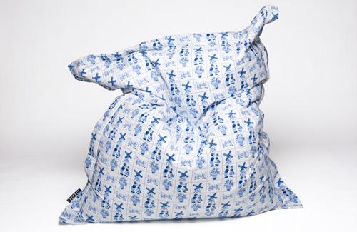 Zitzak Delfts Blauw.Moois Uit Holland Lifestyle From Amsterdam To Marrakech